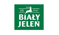 biały jeleń logo