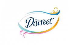 discreet logo