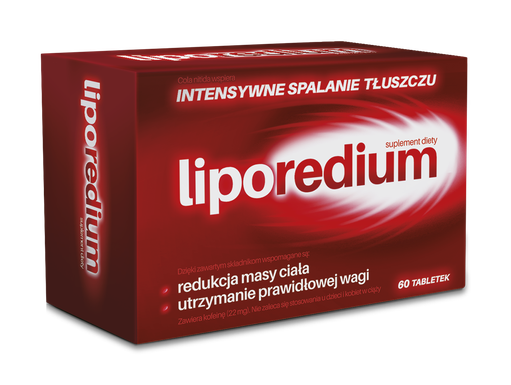 Liporedium 60 Tabletek