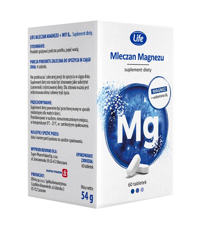 Life Mleczan Magnezu