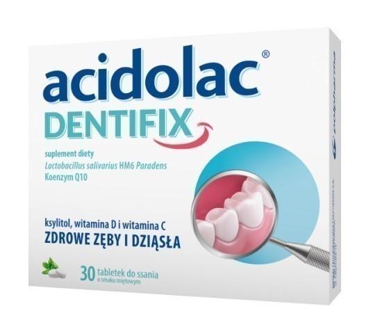 Acidolac Dentifix 30 Tabletek
