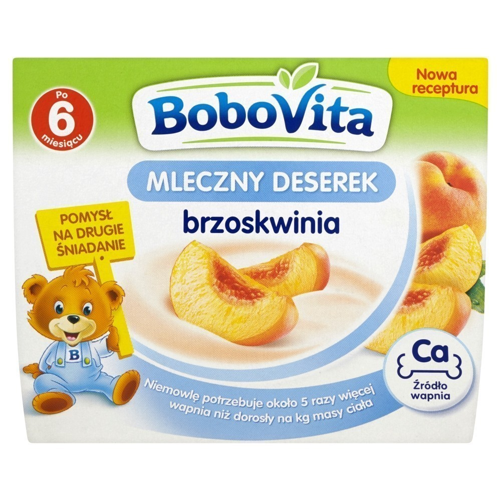Bobovita Brzoskwinia