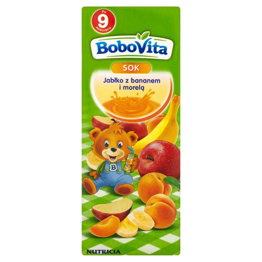 Bobovita Jabłko-Banan-Morela