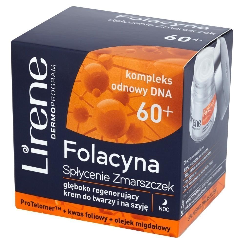 Lirene Dermoprogram Folacyna 60+ Spłycenie Zmarszczek
