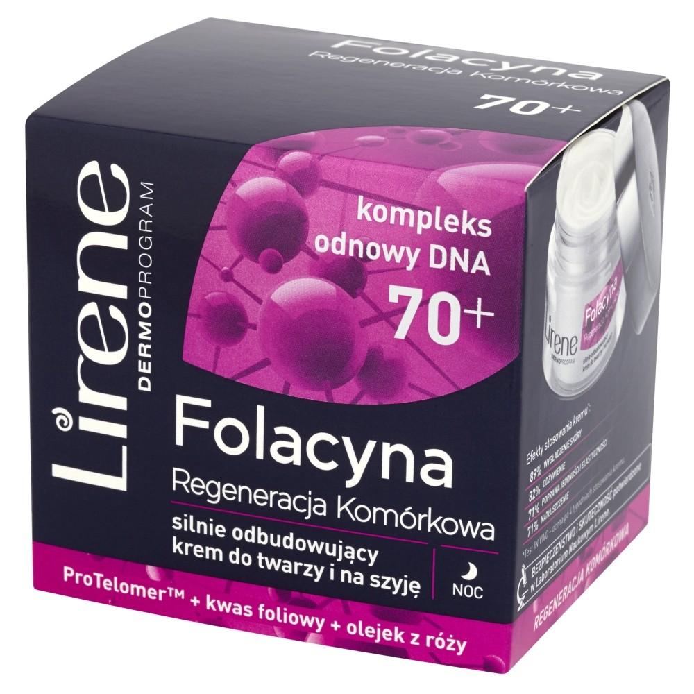 Lirene Dermoprogram Folacyna 70+ Regeneracja Komórkowa