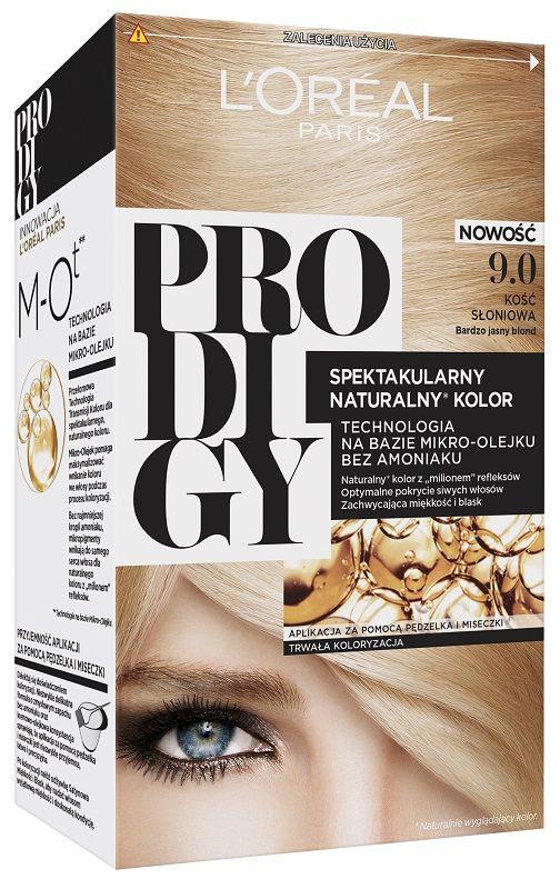 L'Oréal Prodigy 9.0 Ivory Bardzo Jasny Blond