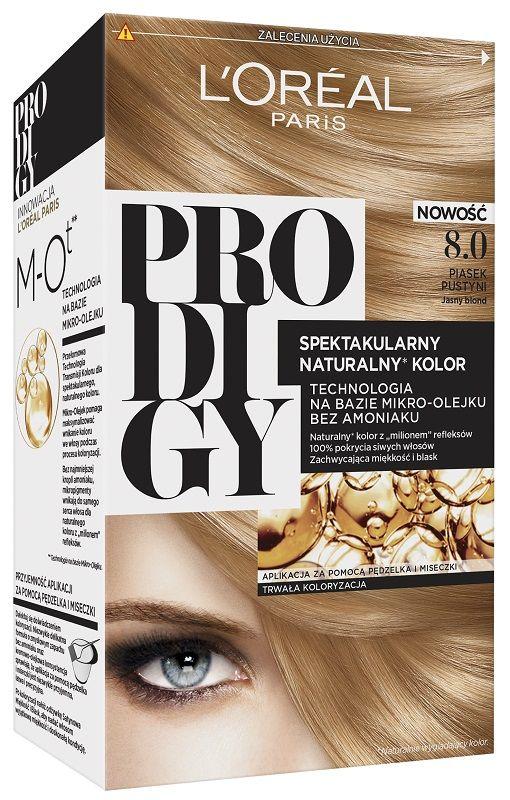 L'Oréal Prodigy 8.0 Dune Jasny Blond