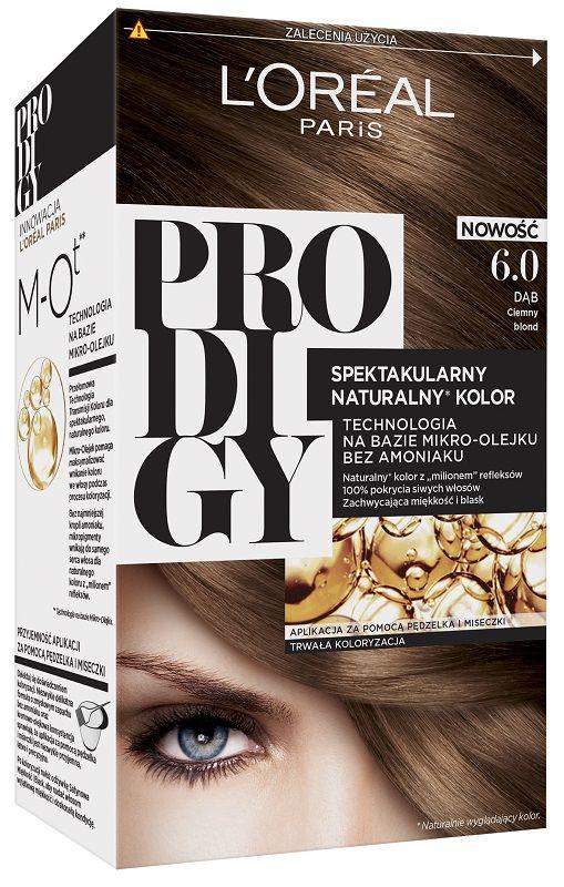 L'Oréal Prodigy 6.0 Oak Bardzo Jasny Brąz
