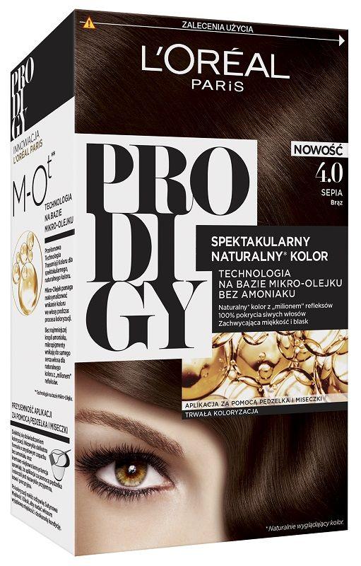 L'Oréal Prodigy 4.0 Sepia Brąz