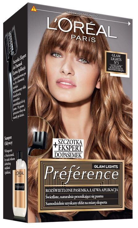 L'Oréal Preference Glam Lights 03
