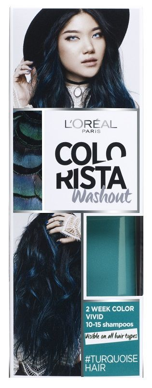 Colorista Wash Out 10 Turquoise Hair