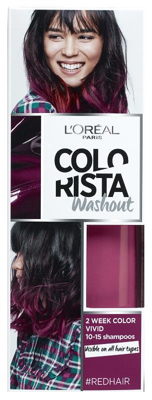 Colorista Wash Out 12 Red Hair