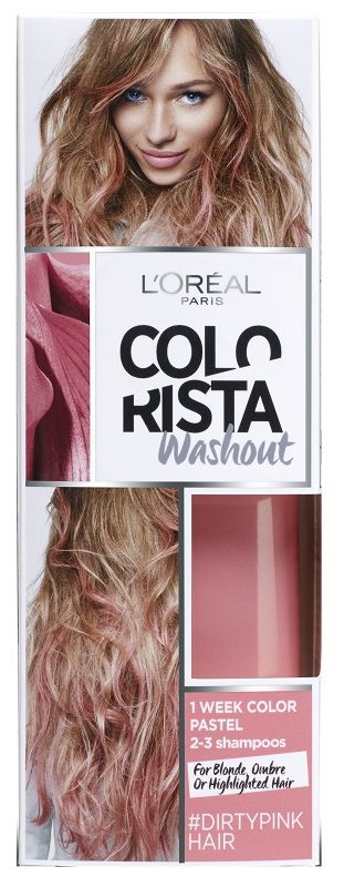 Colorista Wash Out 3 Dirty Pink Hair