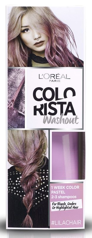 Colorista Wash Out 4 Lilac Hair