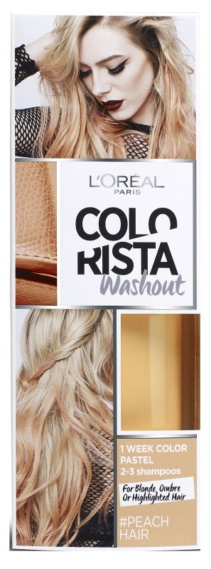 Colorista Wash Out 1 Peach Hair
