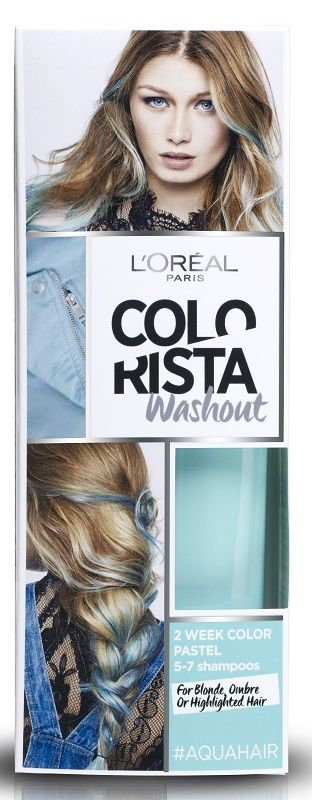 Colorista Wash Out 9 Aqua Hair