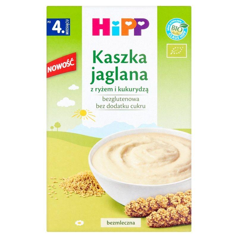 HiPP Kaszka Jaglana z Ryżem i Kukurydzą Bio