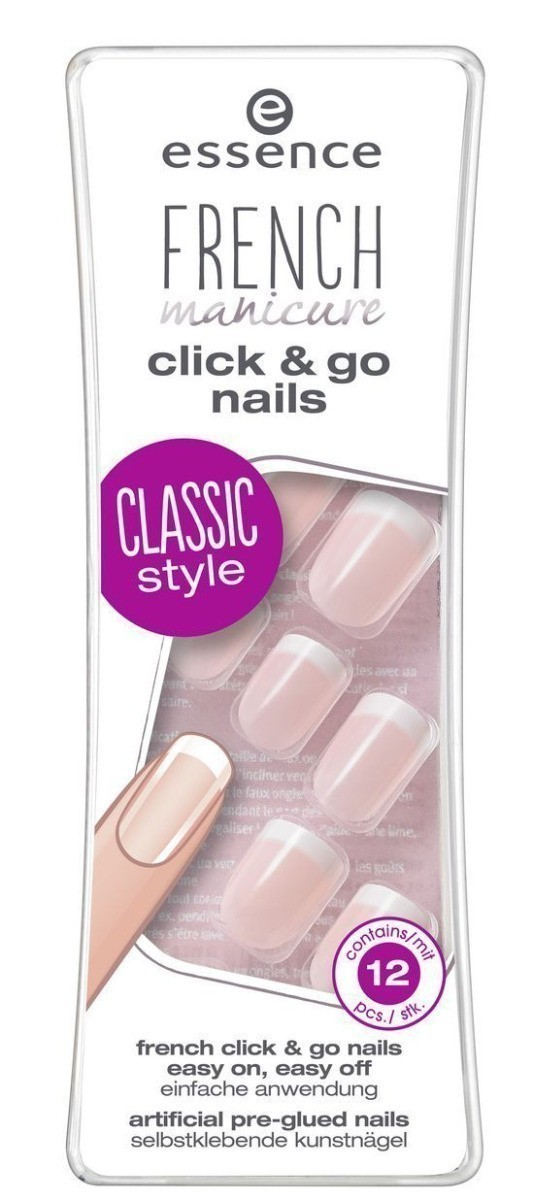 Essence French Click&Go Nails