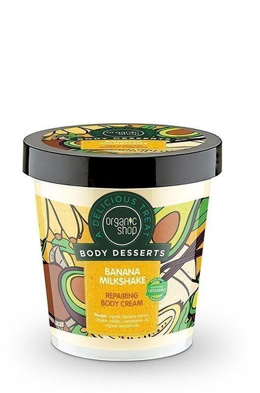 Organic Shop Bananowy Mleczny Shake