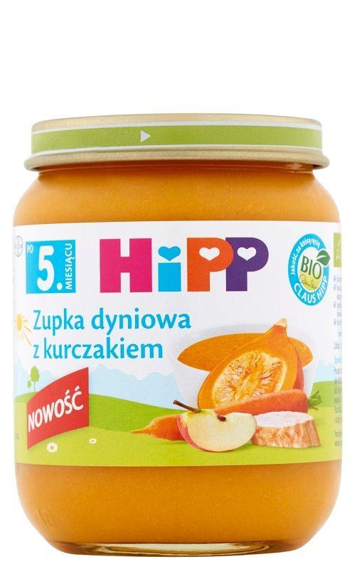 Hipp Zupka Dyniowa z Kurczakiem Bio