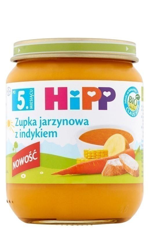 Hipp Zupka Jarzynowa z Indykiem Bio