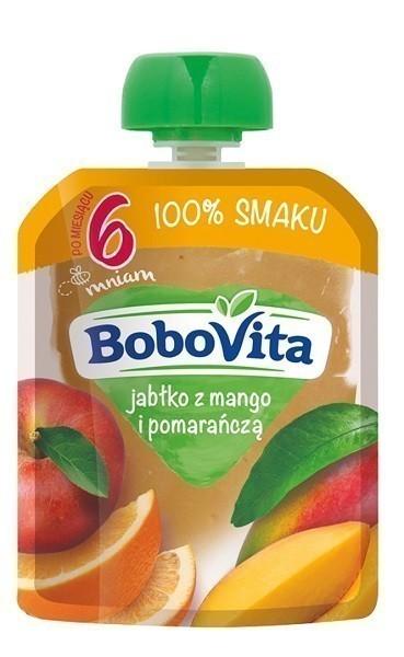 Bobovita Jabłko z Mango i Pomarańczą