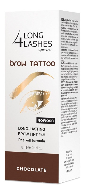 Long 4 Lashes Brow Tattoo