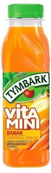 Tymbark Vitamini Banan, Marchew, Jabłko
