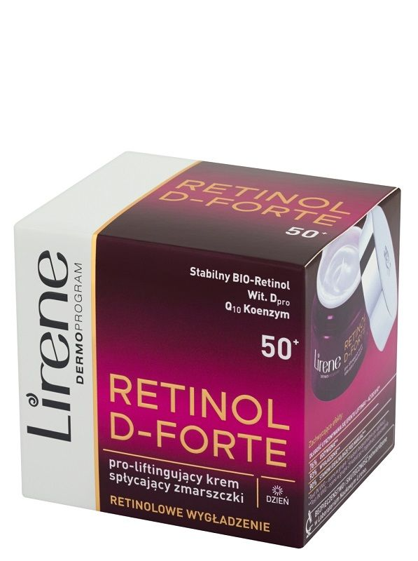 Lirene Dermoprogram Retinol D-Forte 50+