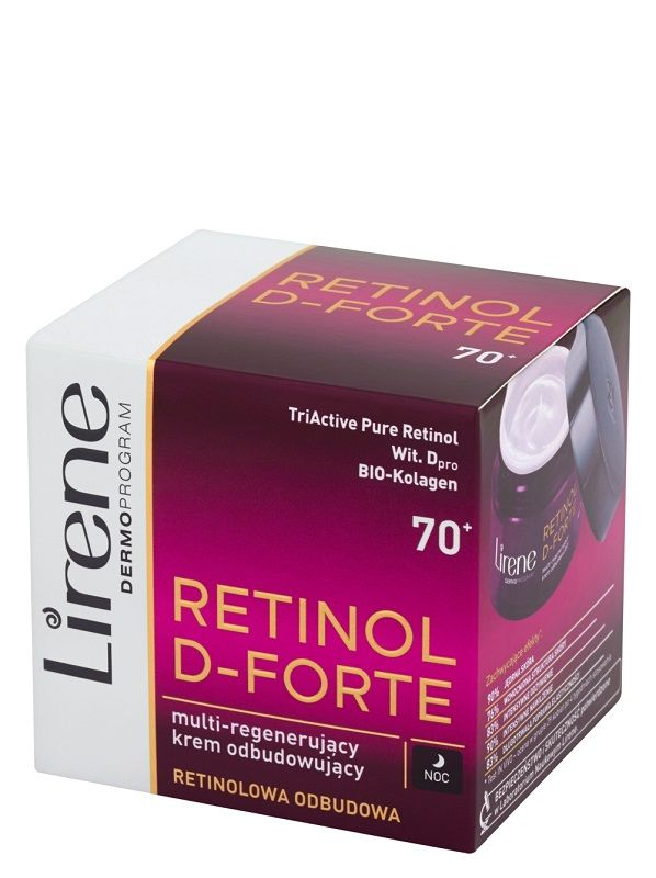Lirene Dermoprogram Retinol D-Forte 70+