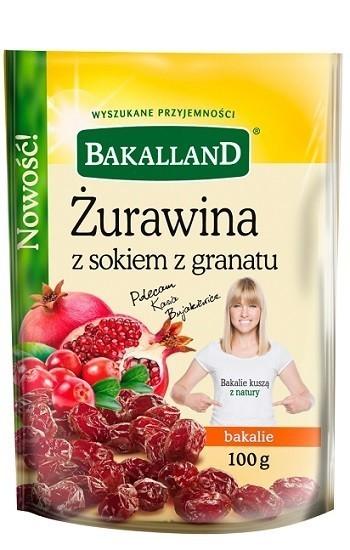 Bakalland Selection Żurawina z Sokiem z Granatu