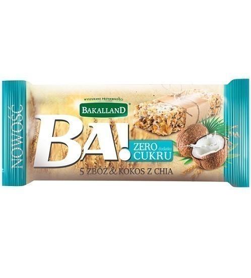 Bakalland BA! 5 Zbóż Kokos z Chia