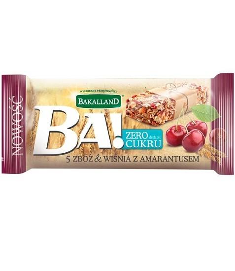 Bakalland BA! 5 Zbóż Wiśnia z Amarantusem