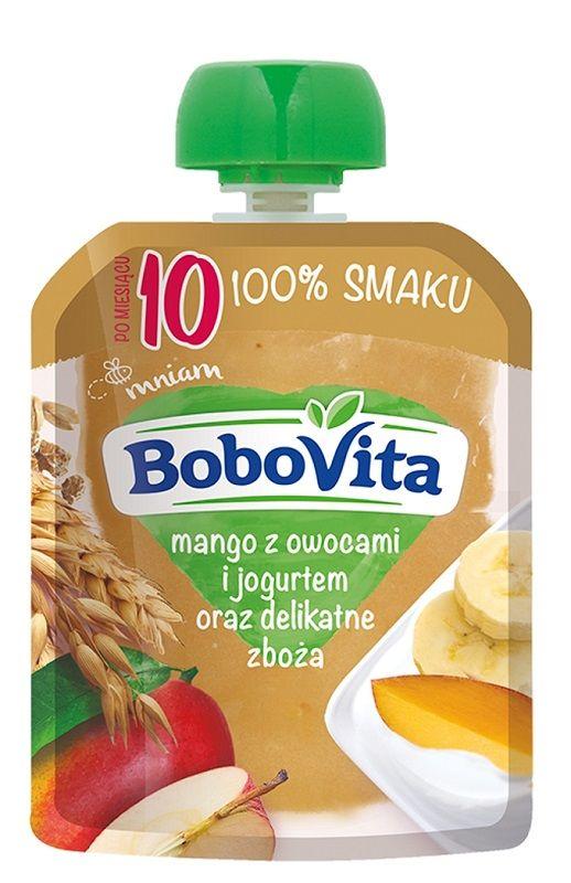 Bobovita Mango z Owocami, Jogurtem i Zbożami