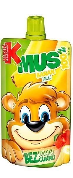 Kubuś Mus 100% z Owoców i Marchwi Banan