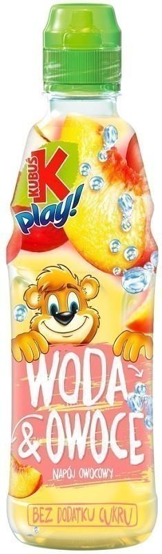 Kubuś Play Woda i Owoce Jabłko, Brzoskwinia