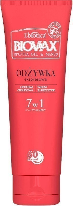 Biovax 7w1 Opuntia Oil & Mango