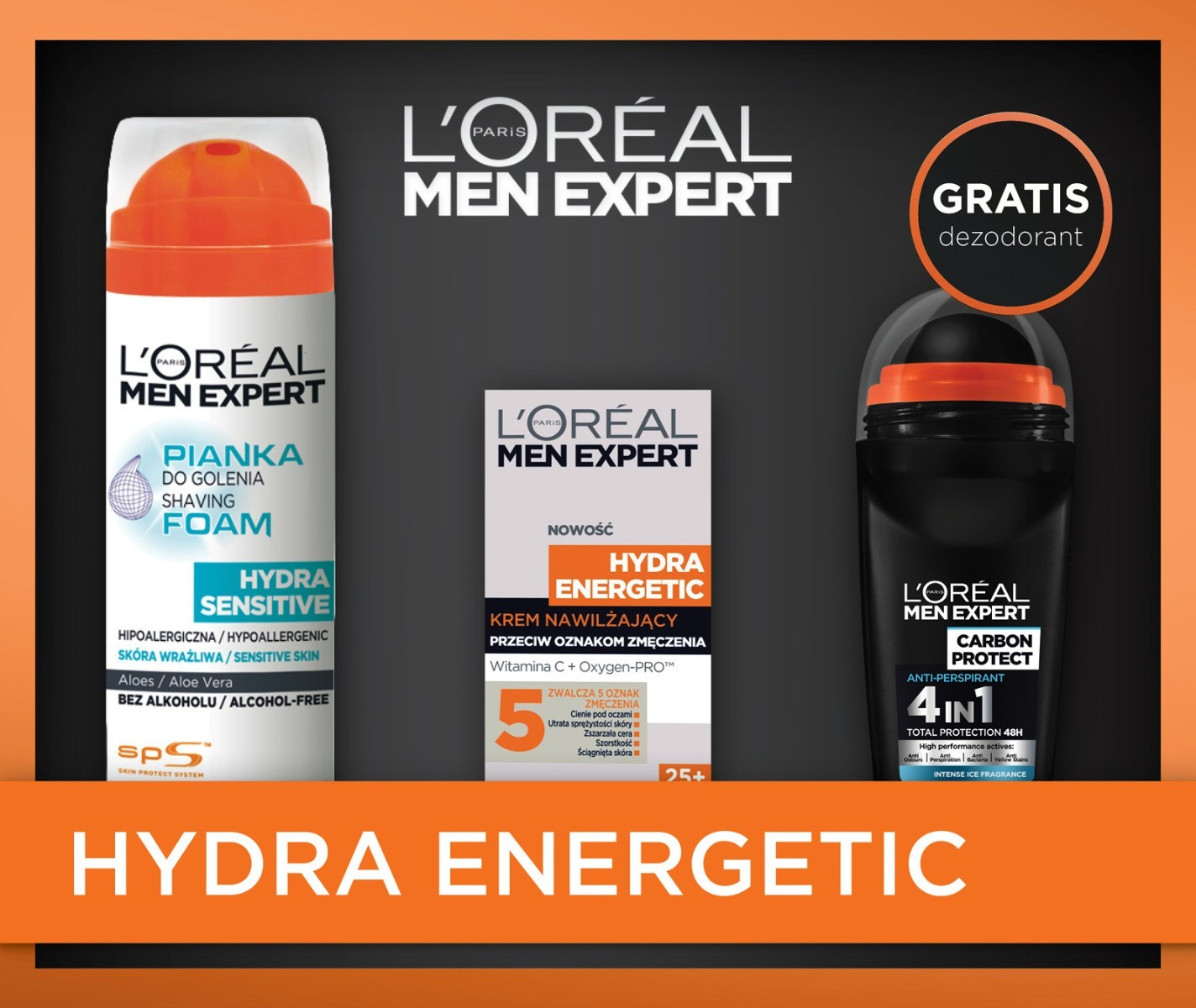 L'Oréal Men Expert Hydra Energetic XMASS