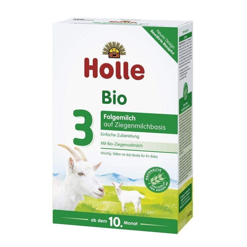 Holle Mleko Kozie 3 Bio