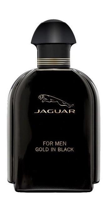 JAGUAR Gold in Black