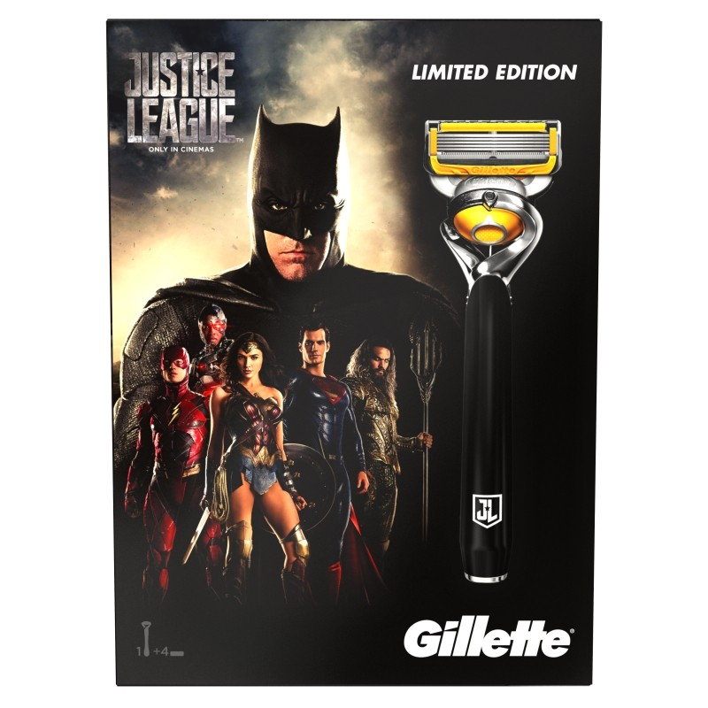 Gillette Proshield Justice League XMASS