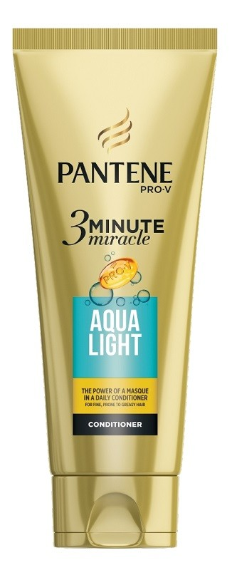 Pantene 3 Minute Miracle Aqua Light