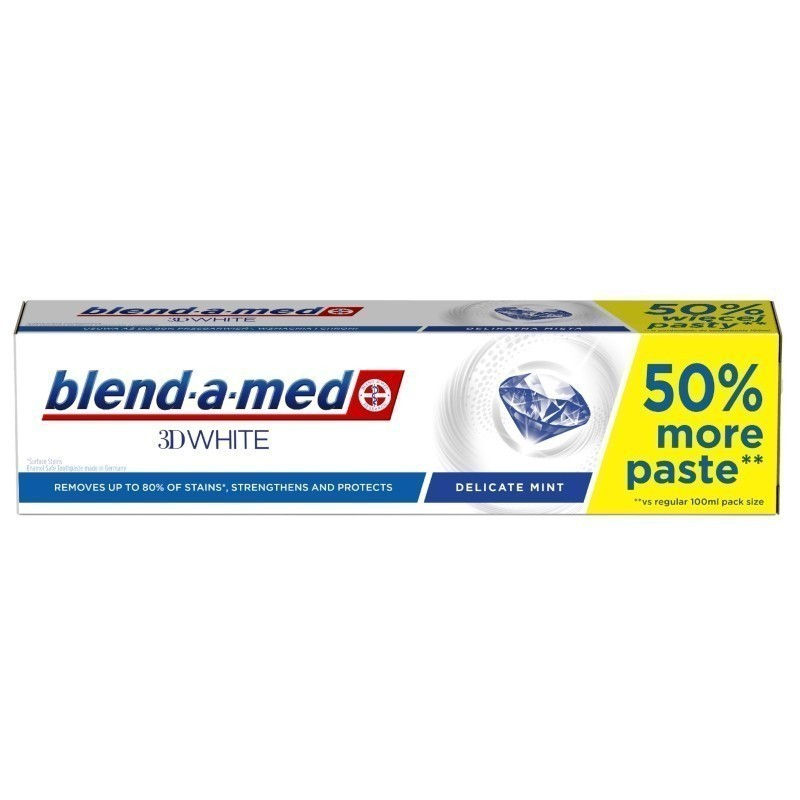 Blend-a-med 3D White Delicate Mint