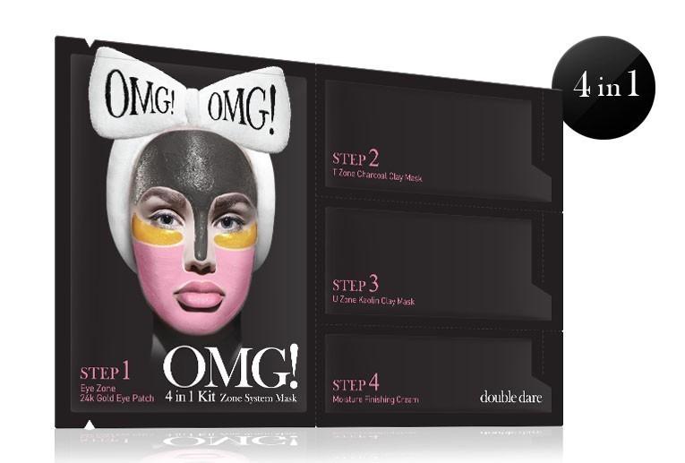 OMG! 4w1 Kit Zone System Mask