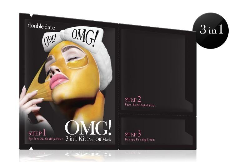 OMG! 3w1 Kit Peel Off Mask