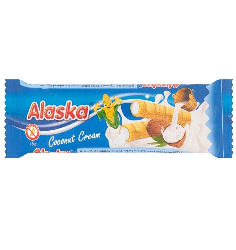 Alaska z Kremem Kokosowym