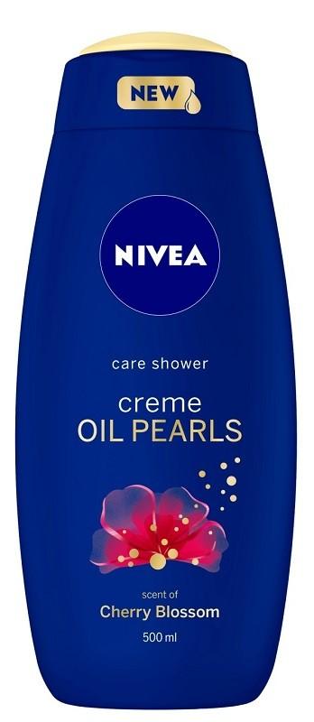 Nivea Bath Care Creme Oil Pearls Cherry Blossom