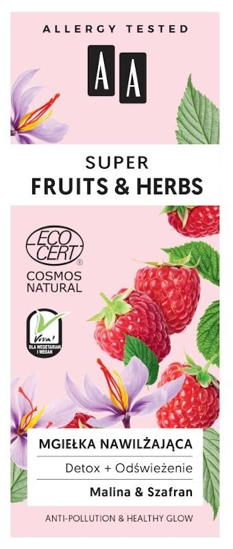 AA Super Fruit & Herbs Detox + Odświeżenie