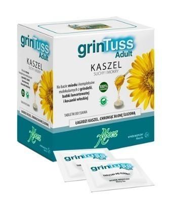 Aboca GrinTuss Adult 20 Tabletek