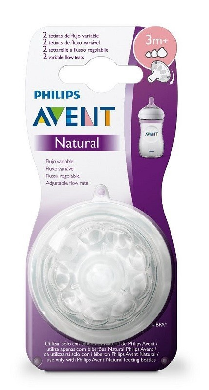 Avent Natural 3m+